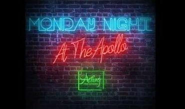 Apollo Theatre Monday Night Live banner