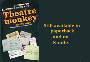 Theatremonkey the book of the website.